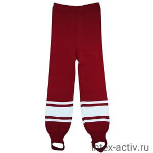 Рейтузы хоккейные Torres Sport Team арт.HR1109-02-158, размер 40, рост 158, 100% полиэстер, красно-белый