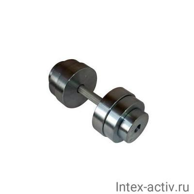 Гантель (1 шт) 28 кг сборная Россия