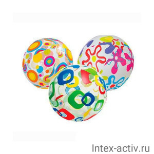 Мяч INTEX 59040 51см, 3+