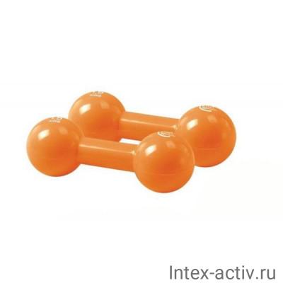 Гантели (2шт) 1,5 кг винил Lite Weights 3968EG