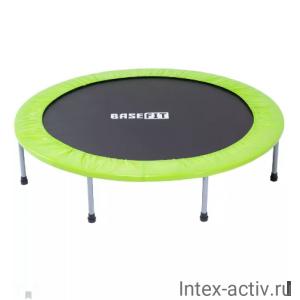 Батут BASEFIT TR-102 101 см, зеленый