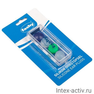 Беруши FASHY Silicon Ear Plugs арт.4021 4шт