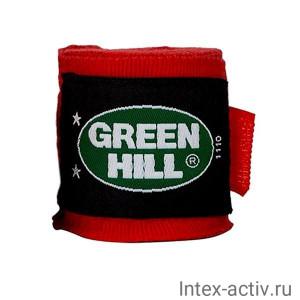 Бинт боксерский Green Hill BP-6232a 2,5м эластик красный
