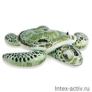 """Плотик Intex 57555NP """"Морская черепаха"""" (191х170см) 3+"""