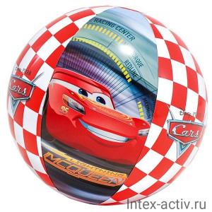 """Надувной мяч Intex 58053NP """"Тачки"""" 61см 3+"""