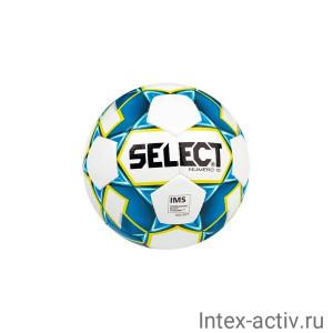 Мяч футбольный SELECT Numero 10 арт.810508 р.5 белый/синий/зеленый