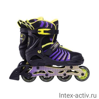 Ролики раздвижные Ridex Thanos Lime р.S/31-34