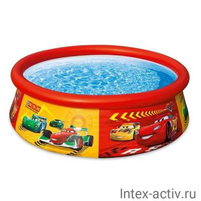 """Бассейн надувной Intex 28103 Easy Set """"Тачки"""" Disney-Pixar (183х51см) 3+"""