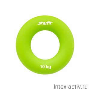 "Эспандер кистевой StarFit ES-403 ""Кольцо"" 10 кг зелёный"