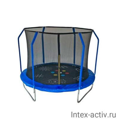 Батут SportElite GAME FR-50 8FT (2.44м) с защитной сеткой внутрь
