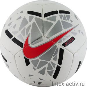 Мяч футбольный Nike Pitch арт.SC3807-103 р.5