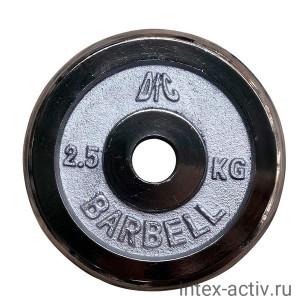 Диск хромированный DFC WP031 d-26 мм 2,5 кг
