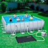 Солнечный нагреватель воды для бассейна Bestway 58423 (110х171см)