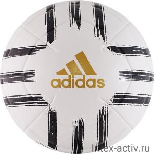 Мяч футбольный Adidas Juve Club арт.GH0064 р.4