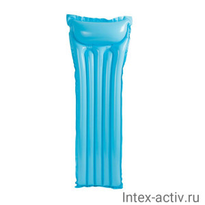 Матрас надувной Intex 59703 (183х69см) синий