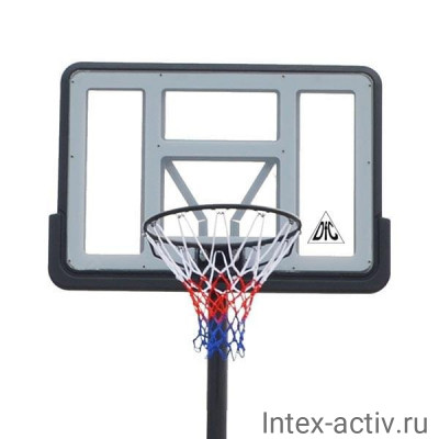 Баскетбольная стационарная стойка DFC ING44P3 112x75cm