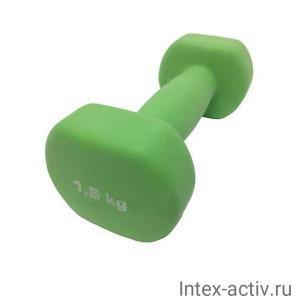 Гантель неопреновая SportElite ES-0391 1,5кг