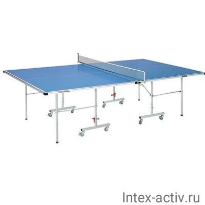 Всепогодный теннисный стол DFC Tornado S600B с сеткой (синий)