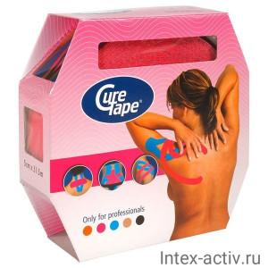Тейп кинезиологический CureTape Giant Roll Pink арт. 160356 розовый