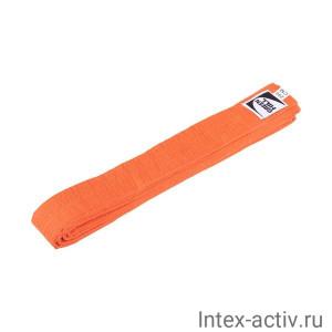 Пояс для карате оранжевый Green Hill KBO-1014 (оранжевый, р.280)