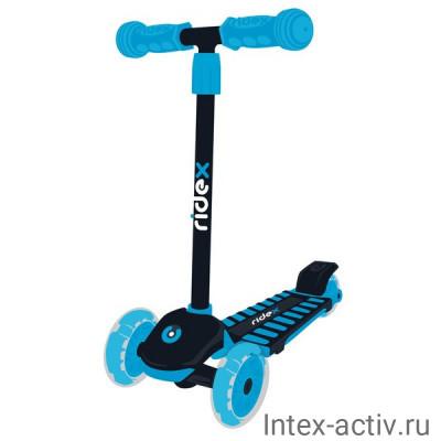 Самокат 3-колесный Ridex Spike 3D 120/100 мм, синий