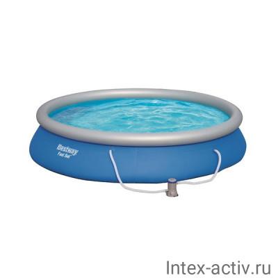 Бассейн с надувным бортом Bestway 57313 (457х84см)