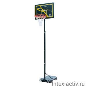 Мобильная баскетбольная стойка DFC KIDSD2 80х58см п/э