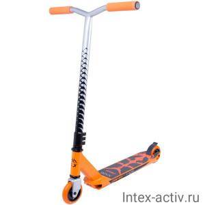 Самокат трюковый XAOS Carcass Orange 100 мм