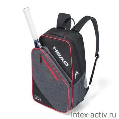 Рюкзак спортивный HEAD CORE Backpack арт.283567 (серо-черно-красный)