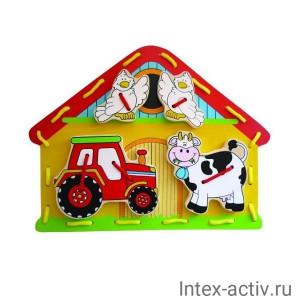 "Шнуровка Mapacha ""Кто живет на ферме?"""