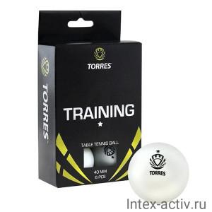 Мяч для настольного тенниса Torres Training 1* арт.TT0016