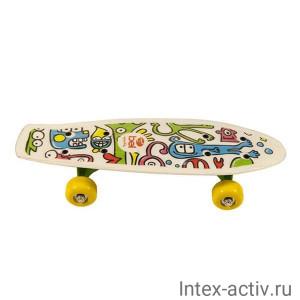 "Скейтборд пластиковый Action CMW019 17""x5"""