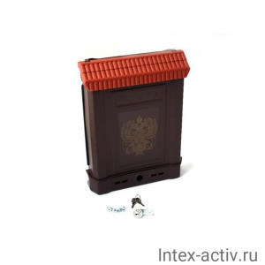 Ящик почтовый Премиум внешний (с замком)
