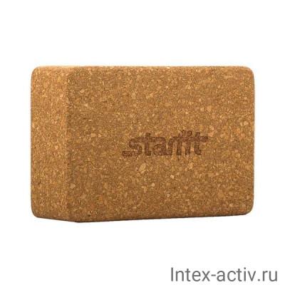 Блок для йоги STARFIT FA-102 пробка