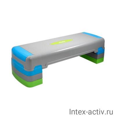 Степ-платформа StarFit SP-203 трехуровневая (90,5х32,5х25 см)
