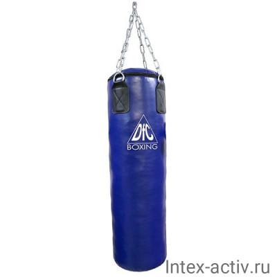 Боксёрский мешок DFC HBPV2.1 синий 30 кг (100*30)