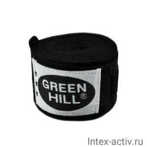 Бинт боксерский Green Hill BP-6232c 3,5м черный