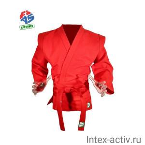 Куртка для самбо Green Hill JS-303-56-RD (рост 6/190, красный, р.56)