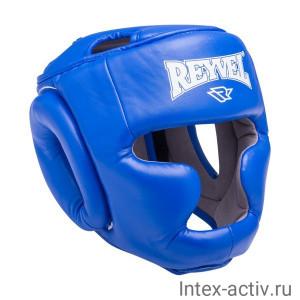 Шлем закрытый Reyvel RV-301 синий р.XL