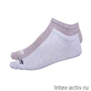 Носки низкие StarFit SW-205 р.35-38 2 пары голубой меланж/светло-серый меланж
