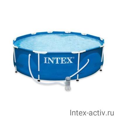 """Бассейн каркасный Intex 28202NP """"Metal Frame Pool"""" 305х76см"""