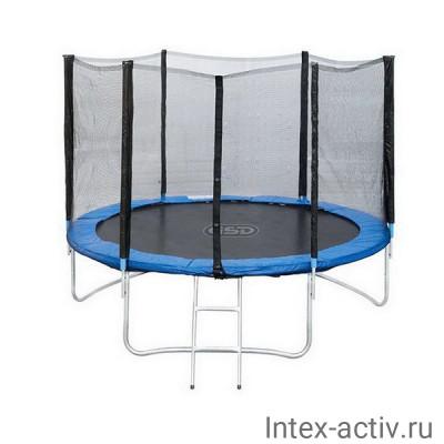 Батут Sport Elit GB10202 10FT (3,05м) с защитной сеткой и лестницей