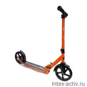 Самокат BIBITU SOLLO SKL-037, руль + 5 см, оранжевый
