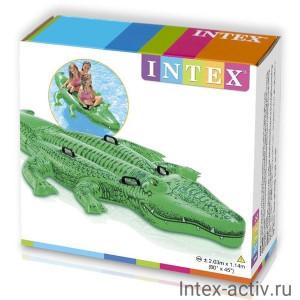 Надувная игрушка для плавания Intex 58562 Гигантский Крокодил 3+