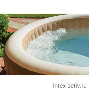 Надувной бассейн джакузи Intex 28474 PureSpa Bubble Massage (196х71см)