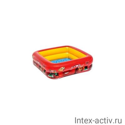 """Бассейн надувной Intex 57101 """"Тачки"""" (85х85х23см)"""