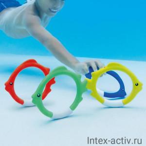 Кольца-рыбки для подводного плавания Intex 55507