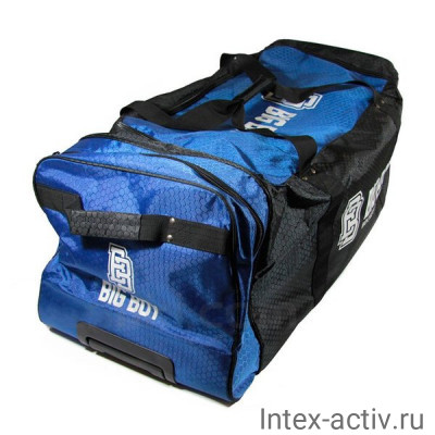 Сумка-баул спортивная BIG BOY Comfort Line 28 арт.БУ-00000034 черно-сине-белый