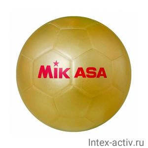 Мяч футбольный для автографов золотой MIKASA GOLD SB р.5