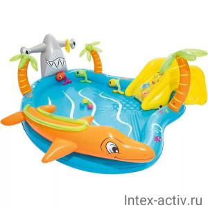 """Игровой центр BestWay 53067 """"Морская жизнь"""" (280х257х87см) 2+"""